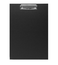 Clipboard A4 CP Black 5pcs