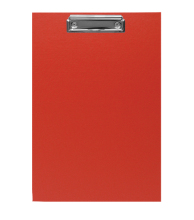 Clipboard A4 CP Red 5pcs